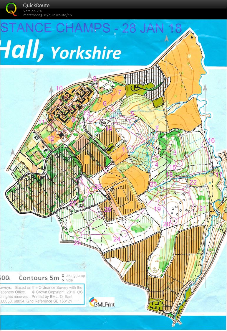 Yorkshire and Humberside Middle Distance Championships (28-01-2018)