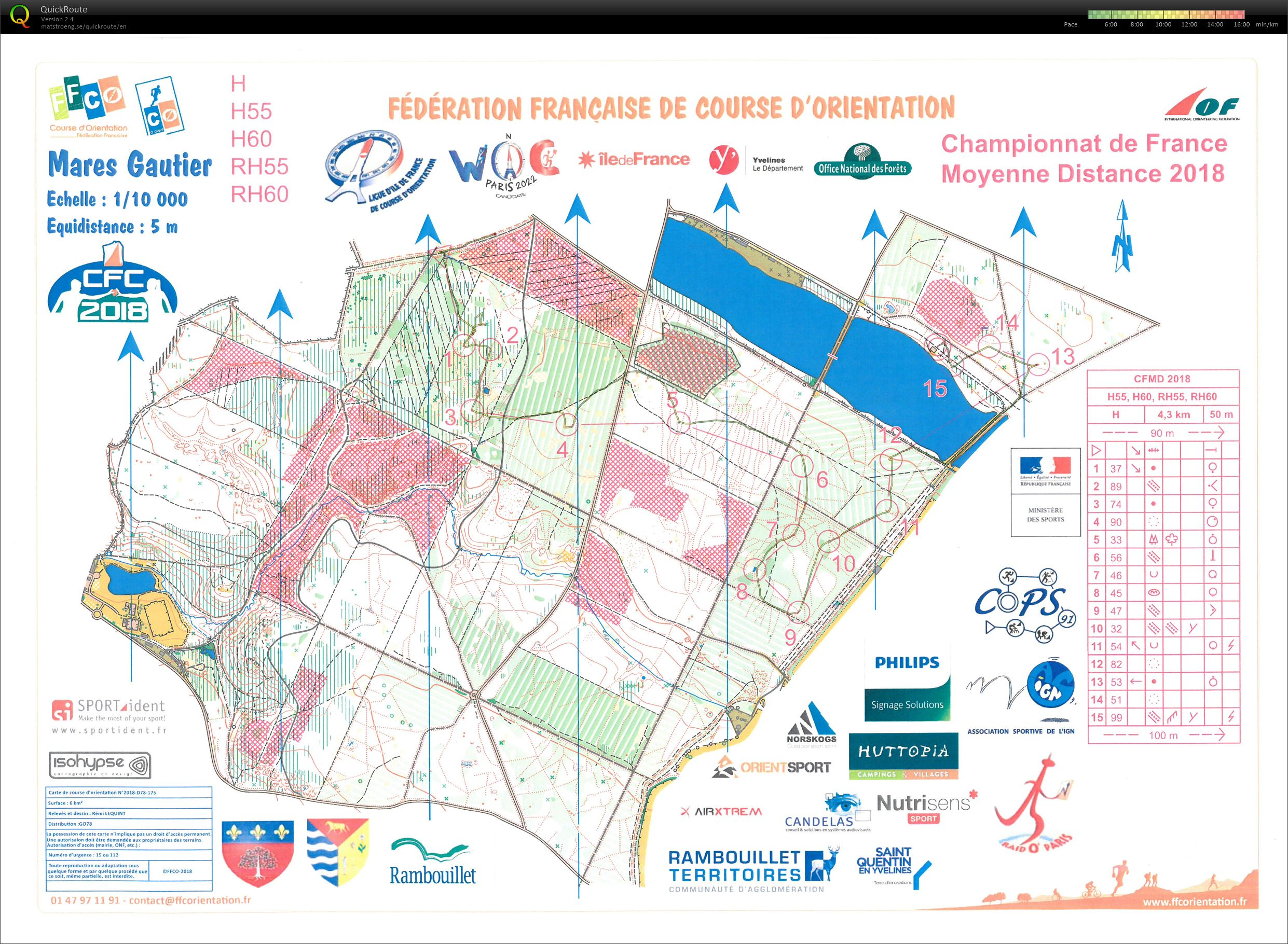 French Middle Distance Championships 2018 (21-04-2018)