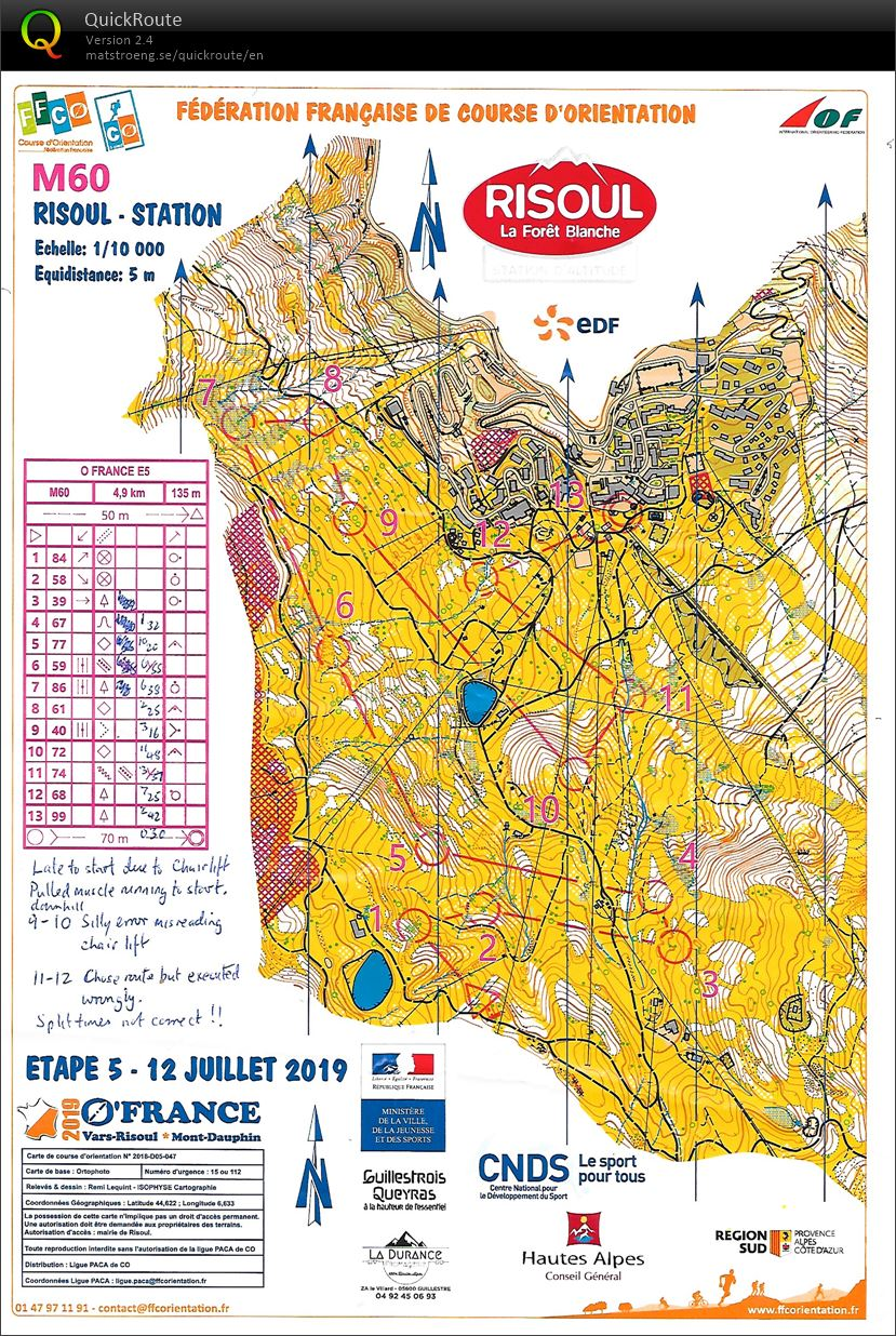 O'France Day 5 Longue distance (12-07-2019)