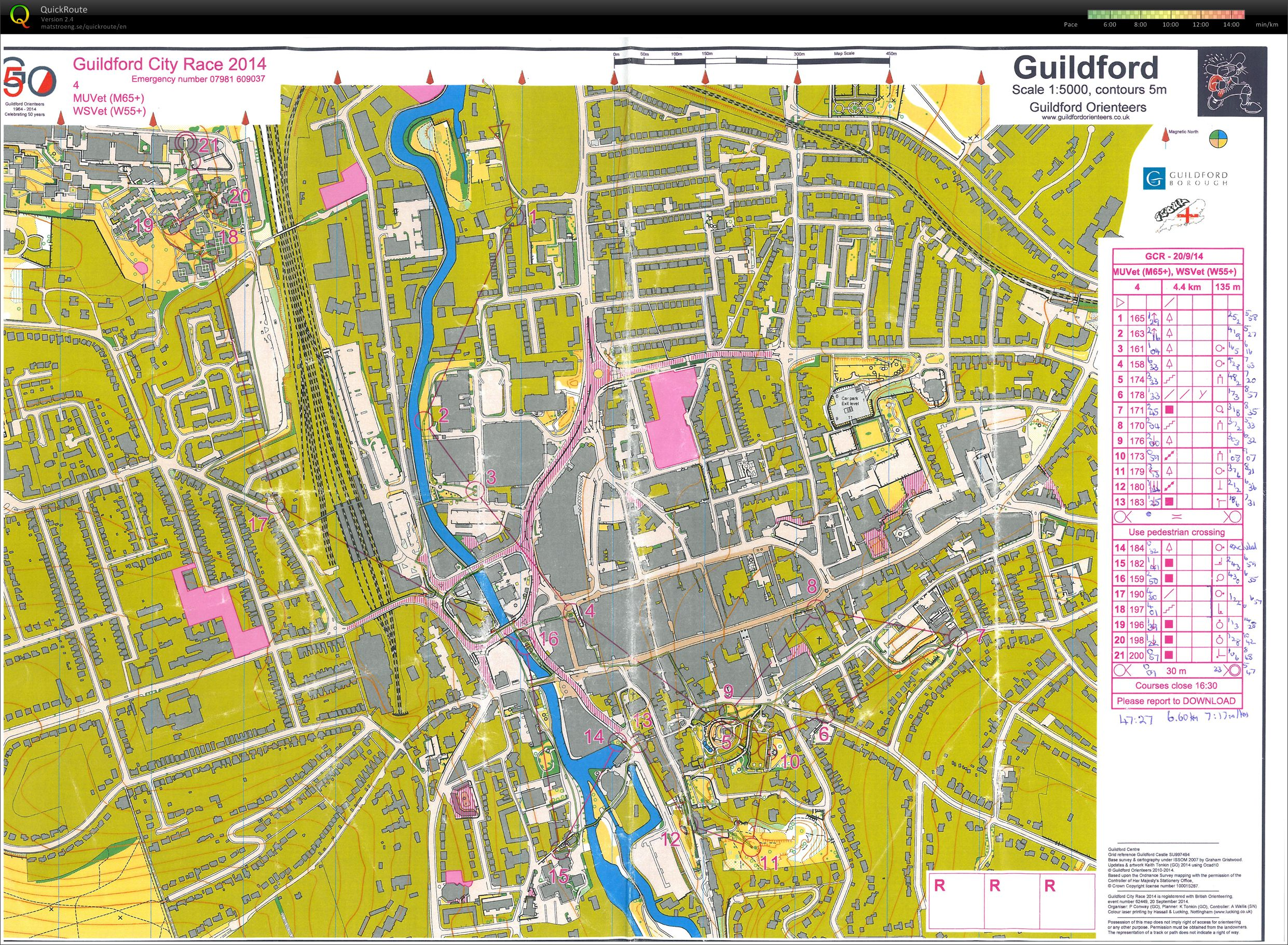 Guildford Urban Race (20-09-2014)